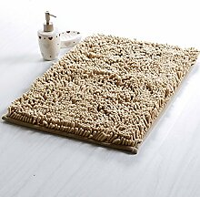 DIDIDD Fußboden-Matte / Toiletten-Tür-absorbierende Auflage- / Badezimmer-Tür-Badezimmer-Antilip-Türmatten für Haushalts-Gebrauch / Fuß-Auflage,K,40X120Cm (16X47Inch)