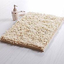 DIDIDD Fußboden-Matte / Toiletten-Tür-absorbierende Auflage- / Badezimmer-Tür-Badezimmer-Antilip-Türmatten für Haushalts-Gebrauch / Fuß-Auflage,I,50X80Cm (20X31Inch)