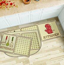 DIDIDD Küche Tür Couchtisch Wohnzimmer Badematte / Vorhalle Fußmatten / Fußauflage / Fußmatte,F,40X60Cm (16X24Inch)