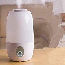 DIDIDD Luftbefeuchter home große stumm schlafzimmer luft luftreinigung kreative mini aromatherapie kapazität konditionierung bürogerät,Weiß