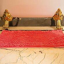 DIDIDD Teppich / Indoor Mat / Schlafzimmer WC Badezimmer Fußmatte / Badematte Absorbent Pad,K,50X150Cm (20X59Inch)