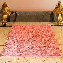 DIDIDD Teppich / Indoor Mat / Schlafzimmer WC Badezimmer Fußmatte / Badematte Absorbent Pad,D,80X120Cm (31X47Inch)