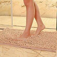 DIDIDD Teppich / Indoor Mat / Schlafzimmer WC Badezimmer Fußmatte / Badematte Absorbent Pad,H,120X170Cm (47X67Inch)