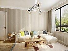 DIDIDD Wand décor-einfache moderne Schlafzimmer Wohnzimmer Tapete Vlies vertikale Streifen TV Hintergrund Wandfarbe Aufkleber 0,53 * 10 m,E