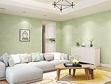 DIDIDD Wand Dekor-moderne minimalistische Vliestapete Schlafzimmer warme Wohnzimmer Wandfarbe Seide 0,53 * 10 m,E