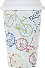 Die amerikanischen Cija Fahrräder Becher aus
