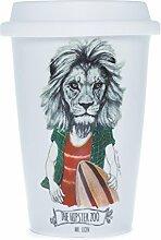 Die amerikanischen Cija The Hipster Zoo Mr. Lion