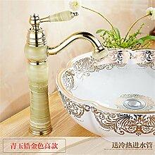 Die Badezimmer Continental natürliche Jade fein