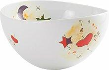 Die Cija Miró–Salatschüssel, Porzellan,