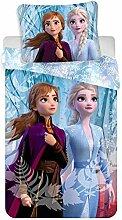 Die Eiskönigin 2 Kinder Bettwäsche Set 140x200 cm
