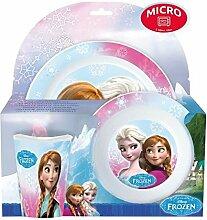 Die Eiskönigin - Frozen : Baby Geschirr Set -