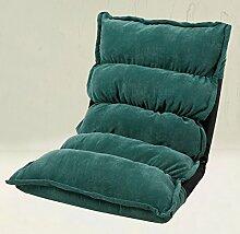Die Erntezeit Fußboden Sofa-Stuhl Lazy Sofa Faltbare Einzelne Kleine Sofa-Bett Computer Stuhl Rücken ( farbe : 3 )