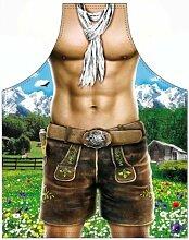 Die erotische Männer Grillschürze - Alpenmodel