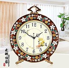 Die Europäische Antike Uhren Ruhigen Wohnzimmer