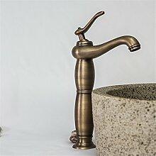 Die Europäische antike Wasserhahn bad Waschbecken