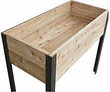 Die Gartenbeet-Kiste Stabiles Hochbeet Terrasse
