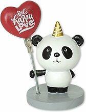 Die Geschenkewelt 45230 Fotohalter mit Panda Figur