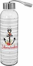 Die Geschenkewelt Gruss und Co 46493 Trink-Flasche