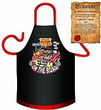 Die Hammer Kochschürze für Outdoor Köche : BBQ