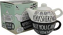 Die immer einen Yorkshireman Teekanne und