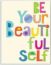 Die Kinder Raum von Stupell Be Your Beautiful