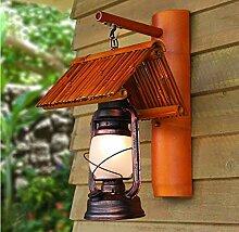 die Lampe Bambus Petroleumlampe Lampe Pferd