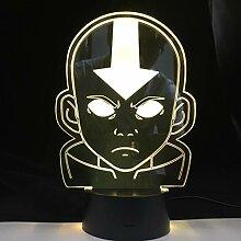 Die Legende von Aang Figur Acryl Led Nachtlicht