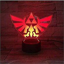 Die Legende von Zelda Triangle 3D USB LED