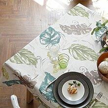 Die Lepra Amerikanischen Natürlichen Und Frischen Pflanzen Baumwolle Tischdecke/Stoff-tischdecke/Tee Tischdecke-A 90x130cm(35x51inch)