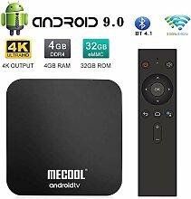 Die Neueste Android 9.0 Netzwerk-TV-Box, 4 GB + 32