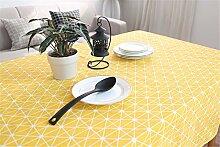Die Nordischen einfache geometrische Muster gelbe