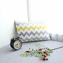Die Nordischen Papst wind Kissen Kissen modernen minimalistischen kleine amerikanische Kissen sofa Kissen Home Kissen Kit, Streifen