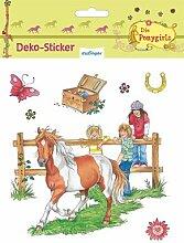 Die Ponygirls: Deko-Sticker