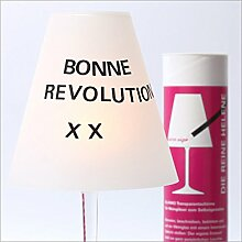 DIE REINE HELENE - 3 Weinglas Lampenschirme zum