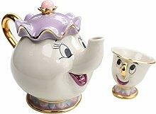 Die Schöne Und Das Biest Mrs Potts Ceramics