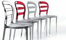 Die Seggiola–Stuhl Dejavù durchsichtig