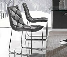 Die Seggiola–Stuhl Jade schwarz