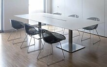 Die Seggiola–Stuhl Office Glos durchsichtig