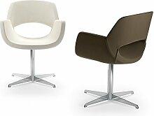 Die Seggiola–Stuhl Office Key dunkelbraun