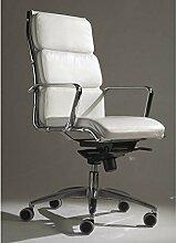 Die Seggiola–Stuhl Office Skin Top–Typ: Hohe bianco