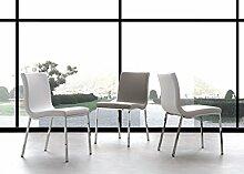 Die Seggiola–Stuhl Onda 209 bianco
