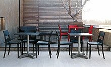 Die Seggiola–Stuhl Sara–Typ 1 anthrazi