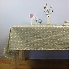 Die Tischdecke Gewebe Baumwolle idyllische dot
