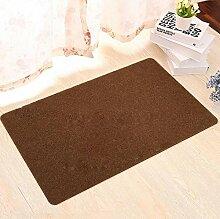 Die Tür Rutschfest Reiben Boden Teppich Fußauflage Küche Schlafzimmer Die Tür Teppich Badematte , red , 50*80cm