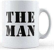 Die von Menschen bedruckte Tasse