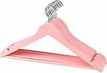 DIES&DAS 1-200 STK. (100) Kleiderbügel Rosa aus