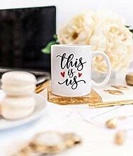 Dies ist uns Tasse Muttertag Geschenkideen Süße