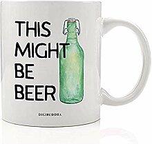 Dies könnte Bier sein, Getränkebecher, lustige