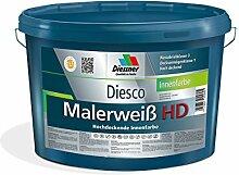 Diesco Malerweiß HD Hochdeckende Innenfarbe