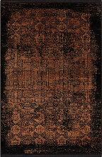 Dieter Knoll VINTAGE-TEPPICH 140/200 cm Orange,